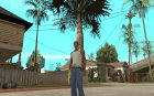 Micro Uzi Gold for GTA San Andreas left view