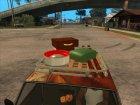ВАЗ 2107 Ржавый Гринго for GTA San Andreas