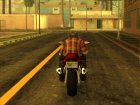 GTA 5 Moto Driving Animation for GTA San Andreas top view