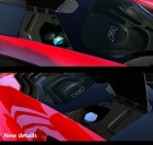 2014 McLaren P1 v2.6 for GTA 5 inside view