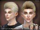 Sclub ts4 hair Michael для Sims 4 вид слева