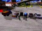 Пак машин для GTA San Andreas вид сверху
