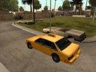 Taxi адаптированное к моду IVF для GTA San Andreas вид сбоку