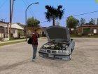Открыть багажник или капот руками для GTA San Andreas вид сверху