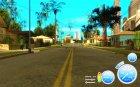 CraZZZy Speedometer v.2.2 Full + Ограниченный бензин для GTA San Andreas вид сзади слева