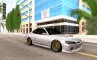 Nissan Silvia S15 Stanced for GTA San Andreas top view
