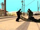 Разные стили борьбы актёров для GTA San Andreas вид изнутри