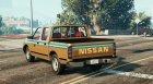 Amanat Al-Riyadh Datsun для GTA 5 вид сзади слева