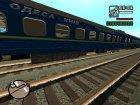 "Купейный вагон ""Черноморец"" для GTA San Andreas вид слева"