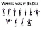 Vampires poses