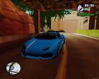 Lamborghini Infernus v2.0 by BlueRay для GTA San Andreas вид изнутри