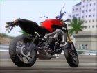 Yamaha MT 09 for GTA San Andreas top view