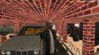 Вход в закрытый и скрытый гараж в Криминальной России для GTA San Andreas вид сзади слева