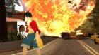 Monkey D. Luffy(Time Skyp) для GTA San Andreas вид слева