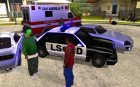 Emergency Calls for GTA San Andreas rear-left view