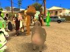 Персонажи мультфильмов для GTA San Andreas вид сзади