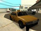 Echo Taxi Sa style для GTA San Andreas вид сзади слева