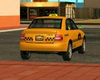 Audi A4 1.9 TDI Taxi for GTA San Andreas rear-left view