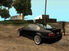 BMW M3 CSL E46 (crow edit) for GTA San Andreas back view