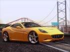 Ferrari California V2.0 for GTA San Andreas left view