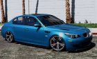 BMW M5 E60 v1.1 for GTA 5 left view