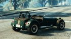 Caterham Super 7 R620 for GTA 5 rear-left view