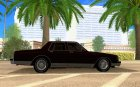 Chevrolet Caprice Classic 87 for GTA San Andreas inside view