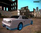Elegy Drift King GT-1 для GTA San Andreas вид сзади слева