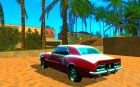 Chevrolet Camaro RSSS 396 1968 (fixed) for GTA San Andreas rear-left view