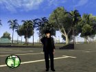 Скин Виктора Цоя v.2 for GTA San Andreas rear-left view