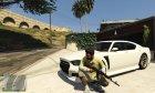 AK-74 for GTA 5 right view