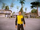 Will Smith Fresh Prince Of Bel Air v1 для GTA San Andreas вид слева