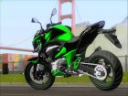 Kawasaki Z800 Monster Energy для GTA San Andreas вид сзади слева