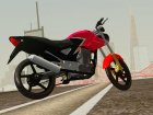 Honda Twister CBX 250 2014 for GTA San Andreas rear-left view