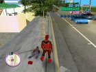 Red Power Ranger Skin for GTA Vice City left view