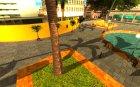 Новый центральный парк Лос Сантоса для GTA San Andreas вид изнутри