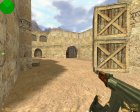 AK 47 Ретекстур для Counter-Strike 1.6 вид сверху