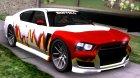 Bravado Buffalo S (HQLM) GTA V for GTA San Andreas inside view