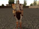 Kratos from God Of War 3 for GTA San Andreas left view