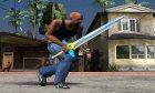 Biggoron Sword from Zelda для GTA San Andreas вид сзади слева