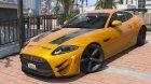 Jaguar XKR-S GT 2013 1.1 для GTA 5 вид слева