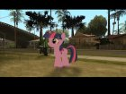 Twilight Sparkle (My Little Pony) для GTA San Andreas вид слева