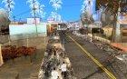 Новый Год на Гроув Стрит для GTA San Andreas вид сверху
