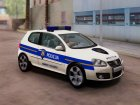 Golf V - Croatian Police Car для GTA San Andreas вид слева