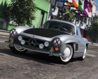 1955 Mercedes-Benz 300SL Gullwing 2.4 для GTA 5 вид сбоку