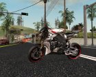 Новые мотоциклы для GTA San Andreas вид сверху