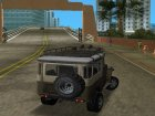 Toyota Land Cruiser FJ40 for GTA Vice City top view