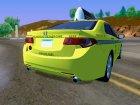 2010 Honda Accord Taxi для GTA San Andreas вид сзади слева