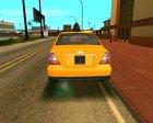 Chevrolet Evanda Taxi для GTA San Andreas вид сверху