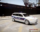 Volvo Police National для GTA 4 вид слева